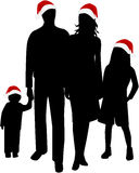 Christmas Family Stock Photo