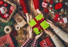 Christmas family traditions Stock Image