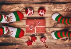 Christmas family traditions royalty free stock photo