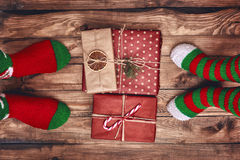 Christmas family traditions. Royalty Free Stock Photo