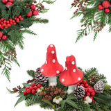 Christmas Fantasy Royalty Free Stock Photography