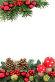 Christmas Fantasy Border Royalty Free Stock Image