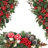 Christmas Fantasy Scene Stock Photography