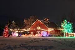 Christmas on the Farm Royalty Free Stock Photography