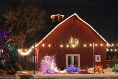 Christmas on the Farm Stock Photography