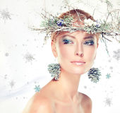 Christmas fashion. Royalty Free Stock Photos