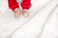 Christmas feet Royalty Free Stock Photo