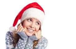 Christmas female Stock Photos