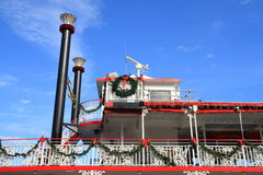 Christmas Ferry Royalty Free Stock Photo