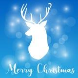 Christmas festival reindeer art design concept  illustration. Christmas festival reindeer art design concept Royalty Free Stock Photo