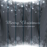 Christmas festival. Stylish merry christmas design with space for your text Royalty Free Stock Images