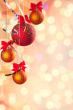 Christmas festive background Stock Image