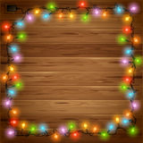 Christmas festive background Stock Images