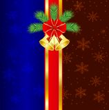 Christmas festive background Royalty Free Stock Images