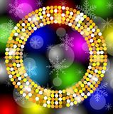Christmas festive background Stock Photography