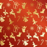 Christmas festive background vector Royalty Free Stock Image
