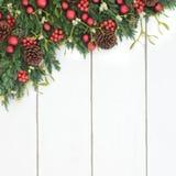 Christmas Festive Border Royalty Free Stock Photography
