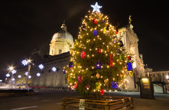 Christmas festive day in the Santa Maria degli Angeli Royalty Free Stock Photo