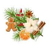 Christmas Festive Decoration Stock Images
