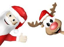 Christmas Festive Design. Graphic colorful illustration Royalty Free Stock Image