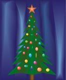 Christmas festive fir. Royalty Free Stock Photos