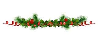 Christmas festive frame Stock Photo