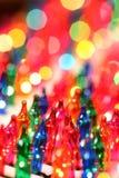 christmas festive lights στοκ εικόνα