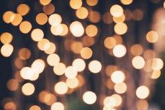 Christmas festive lights. Defocused christmas festive lights, blurred background Royalty Free Stock Photography