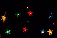 Christmas festive lights Royalty Free Stock Photo