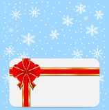 Christmas festive postal. Vector  illustration Stock Images