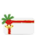 Christmas festive postal. Vector  illustration Stock Photos