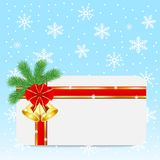 Christmas festive postal Stock Photos