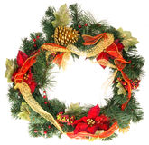 Christmas festive wreath Royalty Free Stock Photo