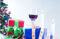 Christmas festivities Stock Image