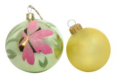 Christmas festoons Royalty Free Stock Images