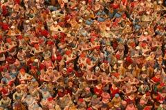 Christmas figures. Of a creche Stock Photo
