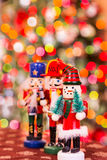 Christmas Figures Royalty Free Stock Photography