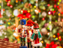 Christmas Figures Royalty Free Stock Images