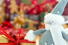 Christmas figurine Stock Photos