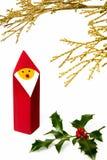 Christmas figurine II stock photo