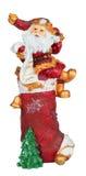 Christmas figurine Santa Claus Stock Photography