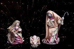 Christmas figurines Royalty Free Stock Images