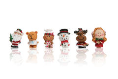 Christmas Figurines Royalty Free Stock Photos