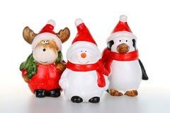 Christmas figurines Stock Image