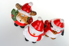 Christmas figurines royalty free stock image