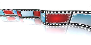 Christmas filmstrip Stock Images