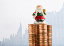 Christmas finances Stock Image