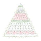 Christmas fir Stock Image