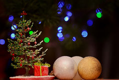 Christmas fir bead. Made their own hands Stock Photo