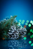 Christmas fir cones Royalty Free Stock Photography